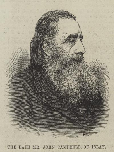 The Late Mr John Campbell, of Islay--Giclee Print