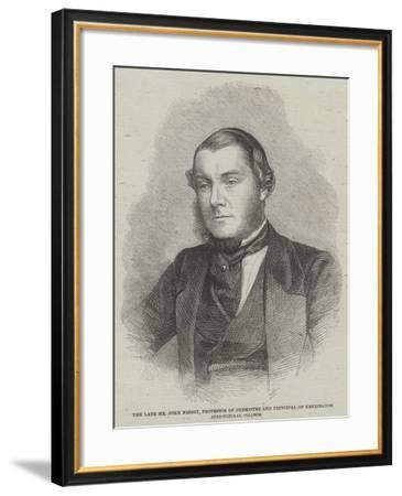 The Late Mr John Nesbit, Professor of Chemistry and Principal of Kennington Agricultural College--Framed Giclee Print