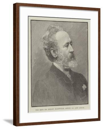 The Late Mr Keeley Halswelle, Artist, Ri and Arsa--Framed Giclee Print
