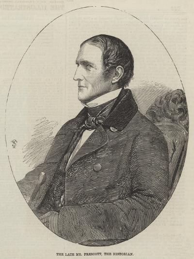 The Late Mr Prescott, the Historian--Giclee Print