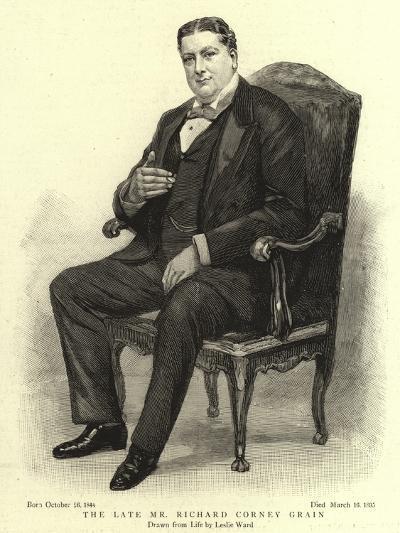 The Late Mr Richard Corney Grain-Leslie Matthew Ward-Giclee Print