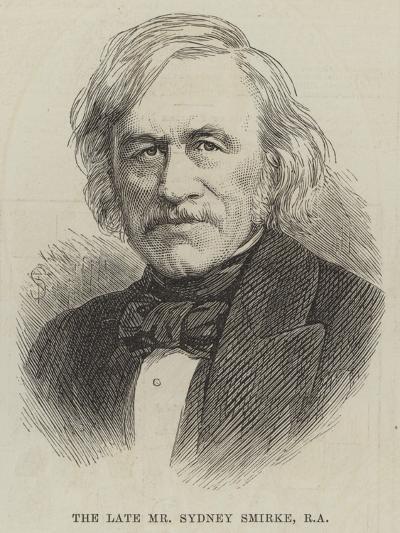 The Late Mr Sydney Smirke--Giclee Print