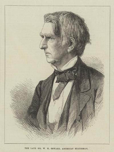 The Late Mr W H Seward, American Statesman--Giclee Print