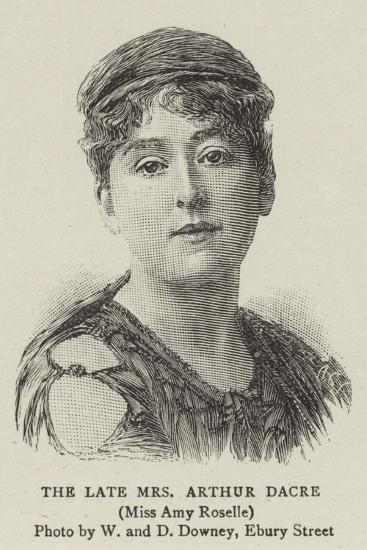 The Late Mrs Arthur Dacre--Giclee Print