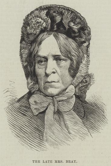 The Late Mrs Bray--Giclee Print