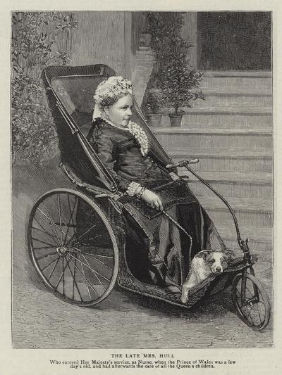 The Late Mrs Hull--Giclee Print