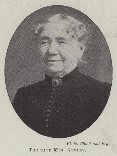 The Late Mrs Keeley--Giclee Print