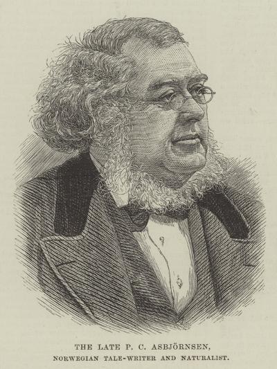 The Late P C Asbjornsen, Norwegian Tale-Writer and Naturalist--Giclee Print