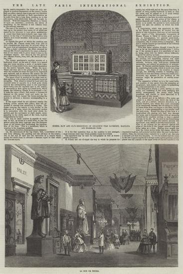 The Late Paris International Exhibition--Giclee Print