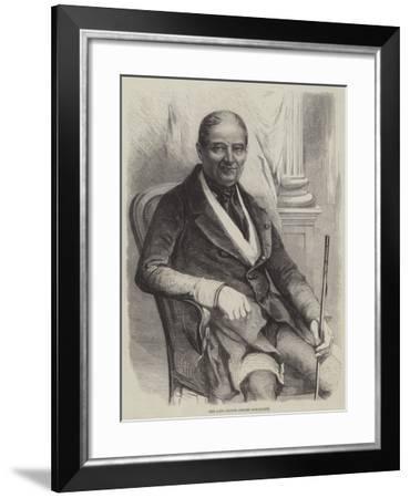 The Late Prince Jerome Bonaparte--Framed Giclee Print