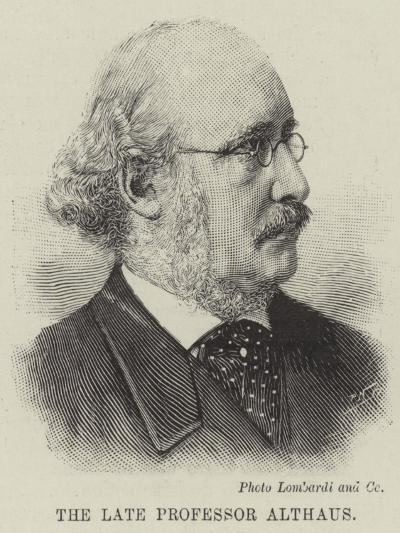 The Late Professor Althaus--Giclee Print