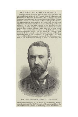The Late Professor Carnelley, Aberdeen--Giclee Print