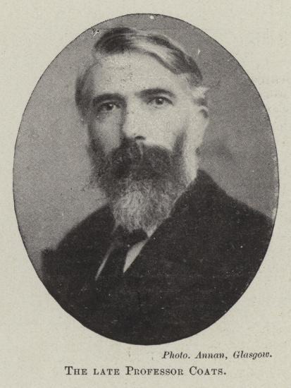 The Late Professor Coats--Giclee Print