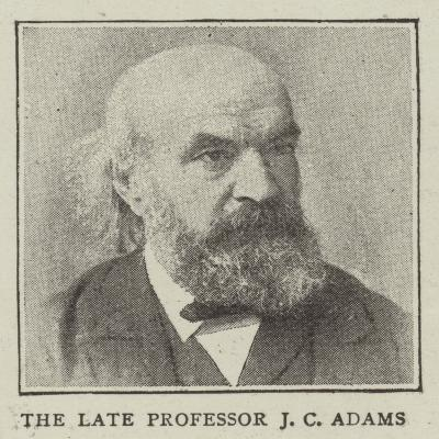The Late Professor J C Adams--Giclee Print