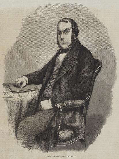 The Late Professor Quekett--Giclee Print