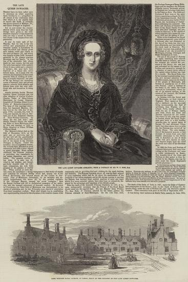 The Late Queen Dowager-William Charles Ross-Giclee Print