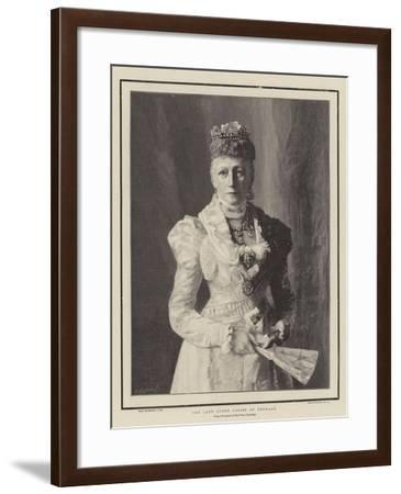 The Late Queen Louise of Denmark--Framed Giclee Print