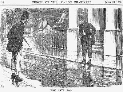 The Late Rain, 1865-George Du Maurier-Giclee Print