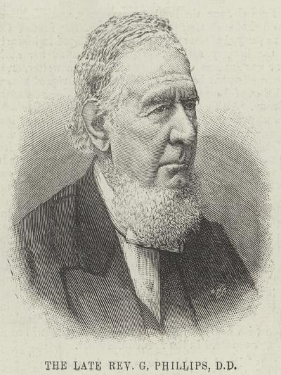 The Late Reverend G Phillips--Giclee Print