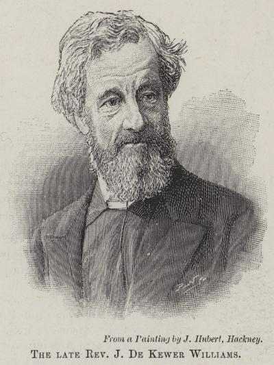 The Late Reverend J De Kewer Williams--Giclee Print