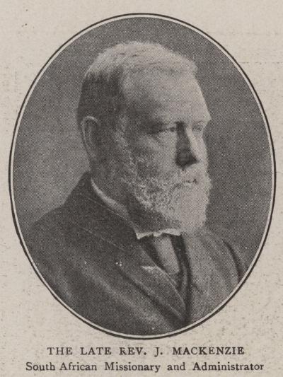 The Late Reverend J Mackenzie--Giclee Print