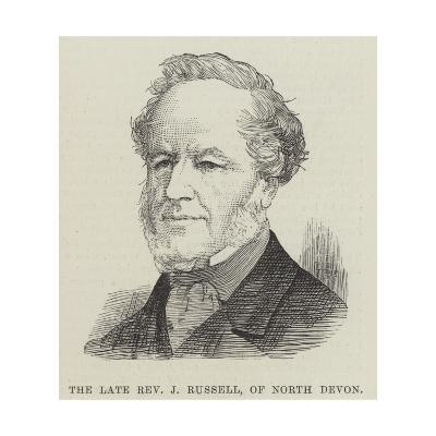 The Late Reverend J Russell, of North Devon--Giclee Print