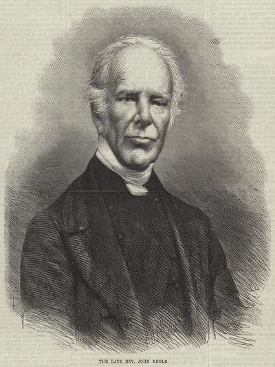 The Late Reverend John Keble--Giclee Print