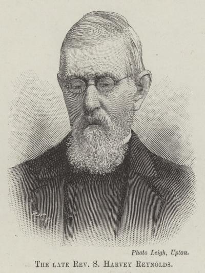 The Late Reverend S Harvey Reynolds--Giclee Print