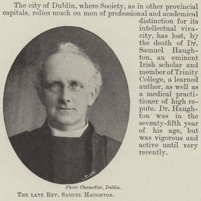 The Late Reverend Samuel Haughton--Giclee Print