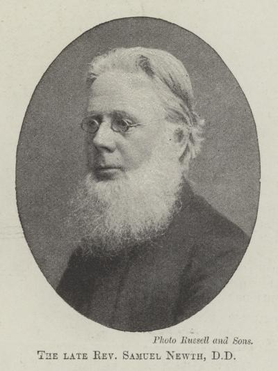 The Late Reverend Samuel Newth--Giclee Print