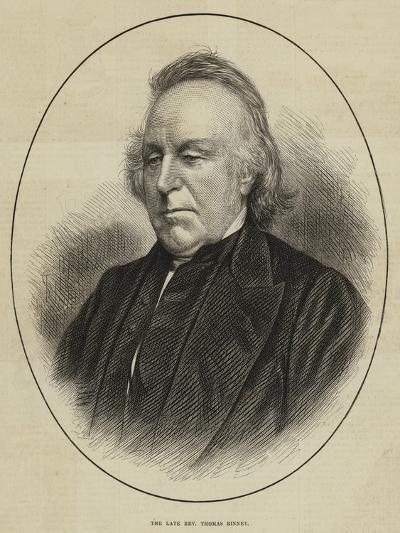 The Late Reverend Thomas Binney--Giclee Print