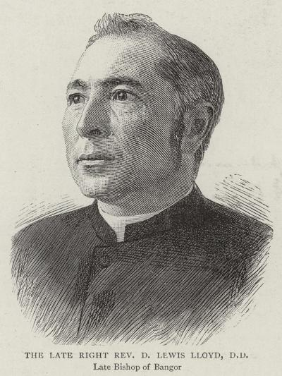 The Late Right Reverend D Lewis Lloyd--Giclee Print