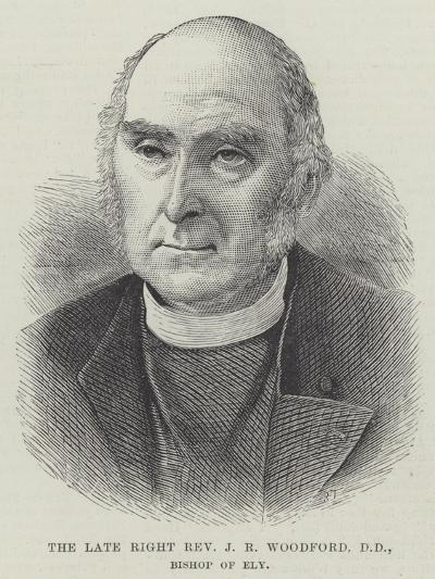 The Late Right Reverend J R Woodford, Dd, Bishop of Ely--Giclee Print