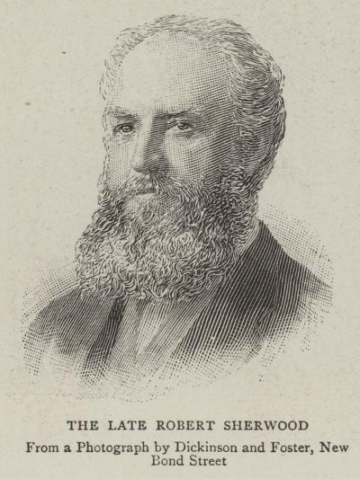 The Late Robert Sherwood--Giclee Print