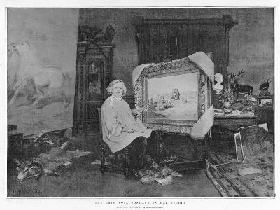 The Late Rosa Bonheur in Her Studio--Giclee Print