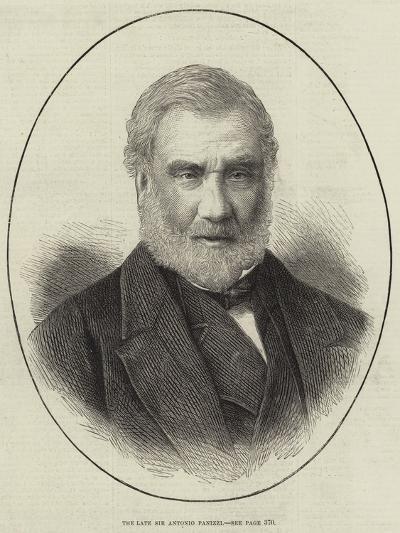 The Late Sir Antonio Panizzi--Giclee Print