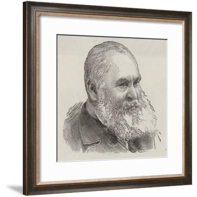 The Late Sir Benjamin Phillips--Framed Giclee Print