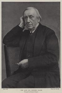 The Late Sir Charles Halle