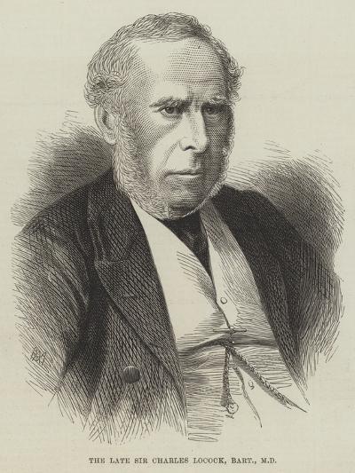 The Late Sir Charles Locock, Baronet, Md--Giclee Print