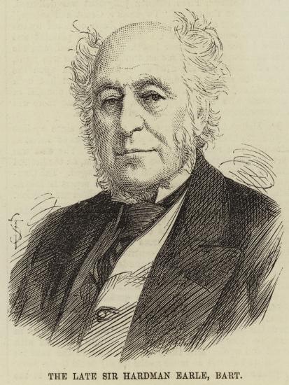 The Late Sir Hardman Earle, Baronet--Giclee Print