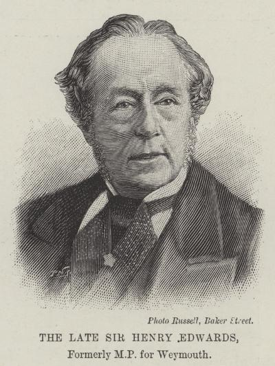 The Late Sir Henry Edwards--Giclee Print