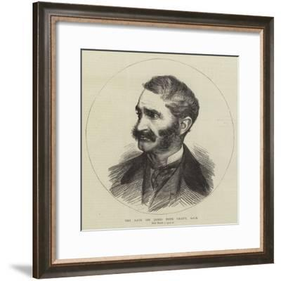 The Late Sir James Hope Grant--Framed Giclee Print