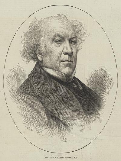 The Late Sir James Murray--Giclee Print
