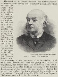 The Late Sir James Ramsden