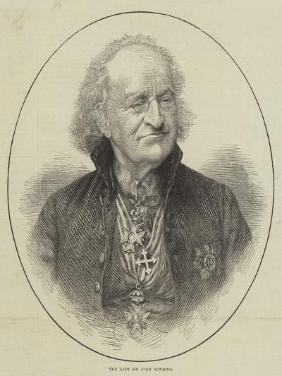 The Late Sir John Bowring--Giclee Print