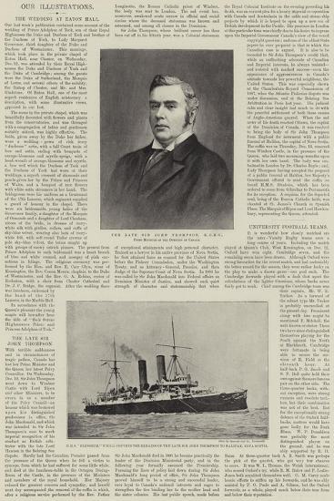 The Late Sir John Thompson--Giclee Print
