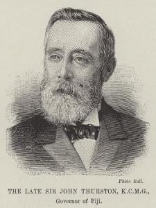 The Late Sir John Thurston, Governor of Fiji