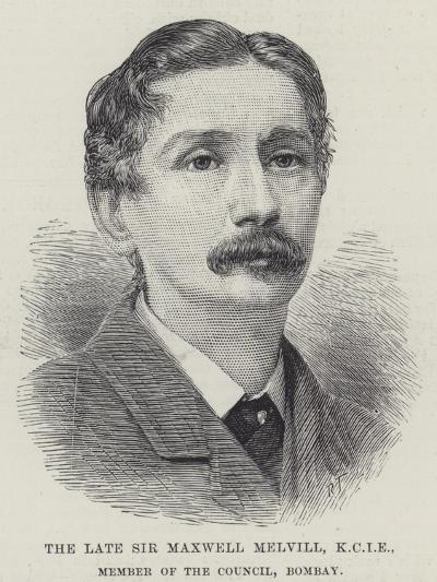 The Late Sir Maxwell Melvill, Kcie, Member of the Council, Bombay--Giclee Print