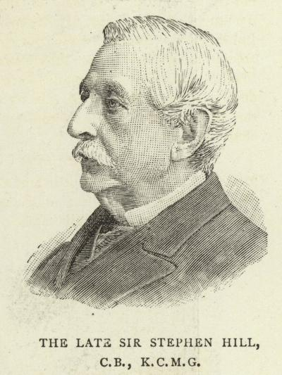The Late Sir Stephen Hill--Giclee Print