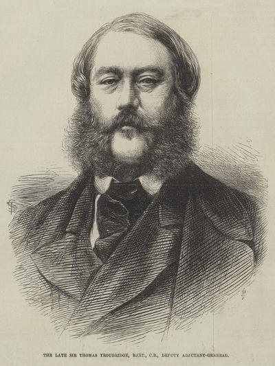 The Late Sir Thomas Troubridge, Baronet, Cb, Deputy Adjutant-General--Giclee Print